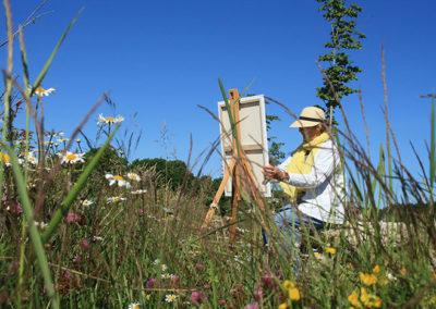workshop, schilderen, schildervakantie, frankrijk, margot maaskant, la fougeraie, breda, auvergne