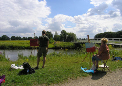 creatief Breda buitenworkshop